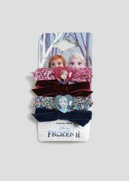 Girls 4 Pack Disney Frozen 2 Bow Hair Clips