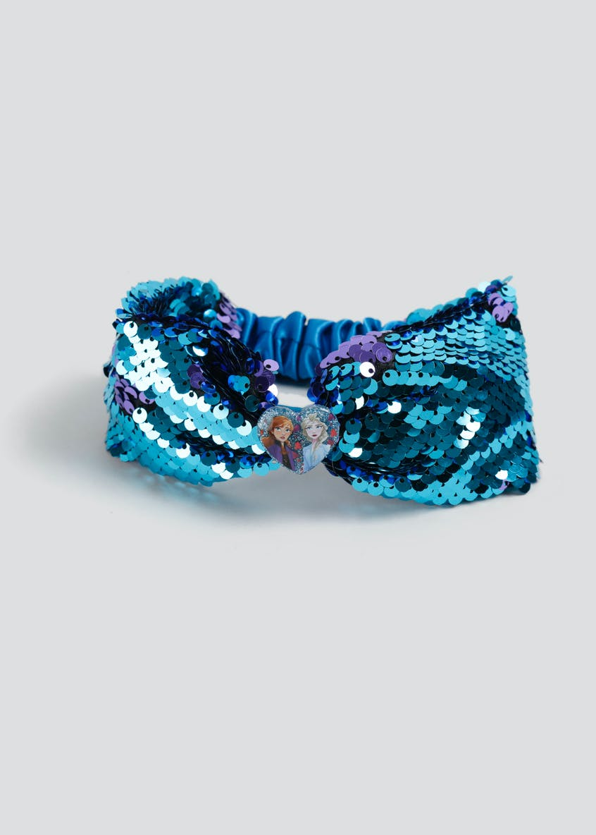 Girls Disney Frozen 2 Reversible Sequin Hair Bandeau