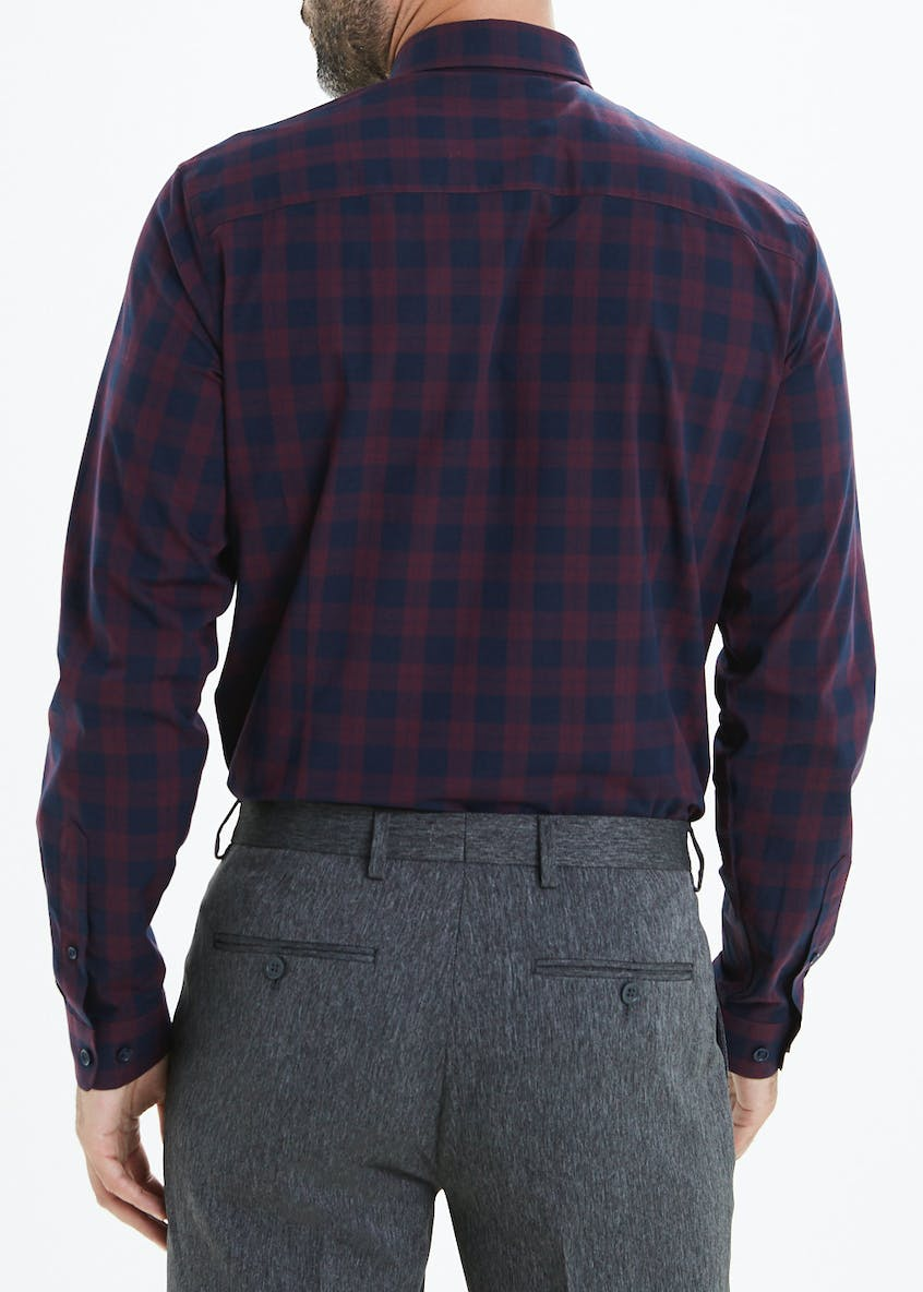 Taylor & Wright Slim Fit Long Sleeve Check Shirt