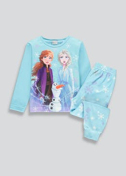 Kids Disney Frozen 2 Fleece Pyjama Set (2-9yrs)
