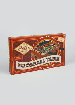 Wooden Foosball Table (50cm x 31.5cm x 11cm)