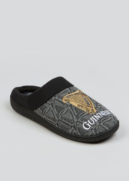 Black Guinness Mule Slippers