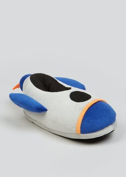 Kids Blue Rocket Slippers (Younger 10-Older 6)