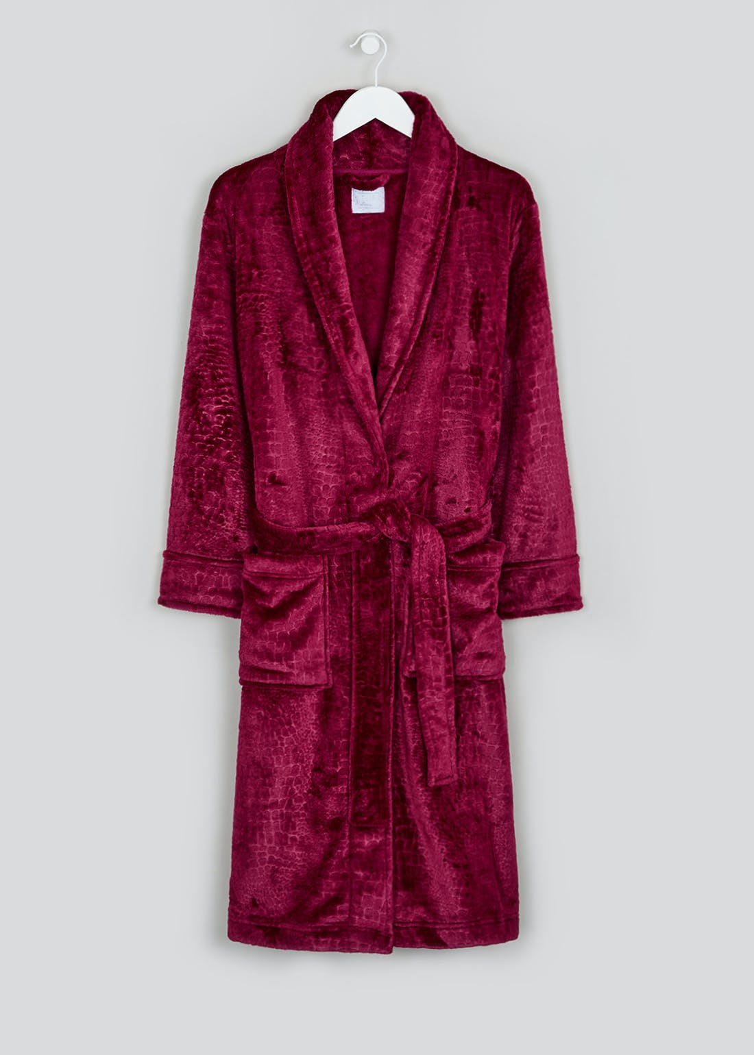 Animal Jacquard Dressing Gown