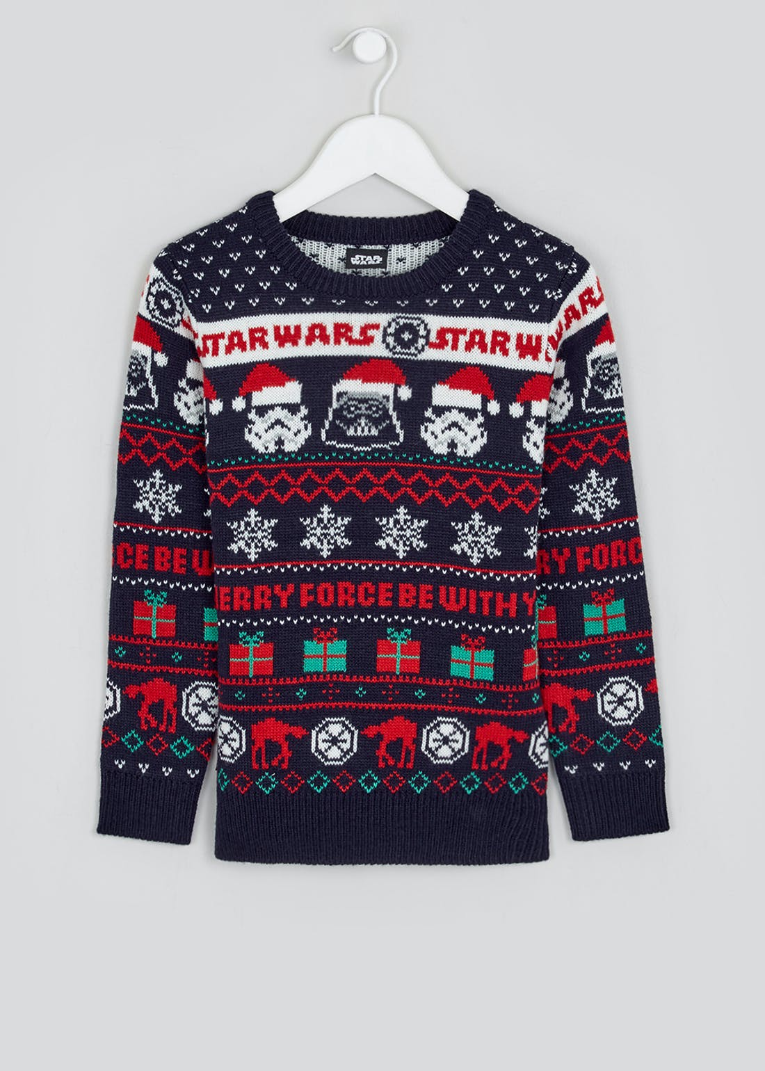 Kids Star Wars Christmas Jumper (4-11yrs)