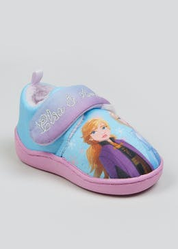 Girls Blue Disney Frozen 2 Slippers (Younger 4-9)