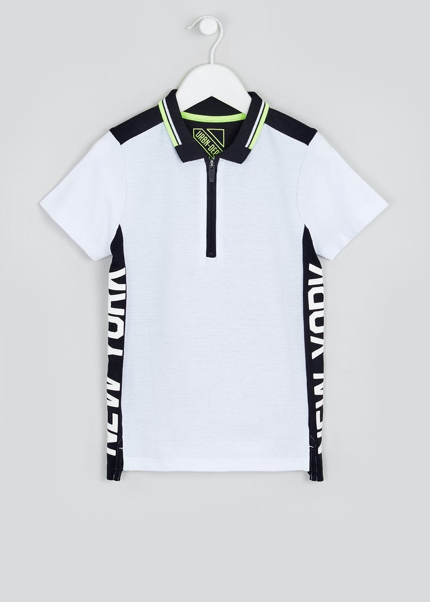 Boys Short Sleeve New York Polo Shirt (4-13yrs)