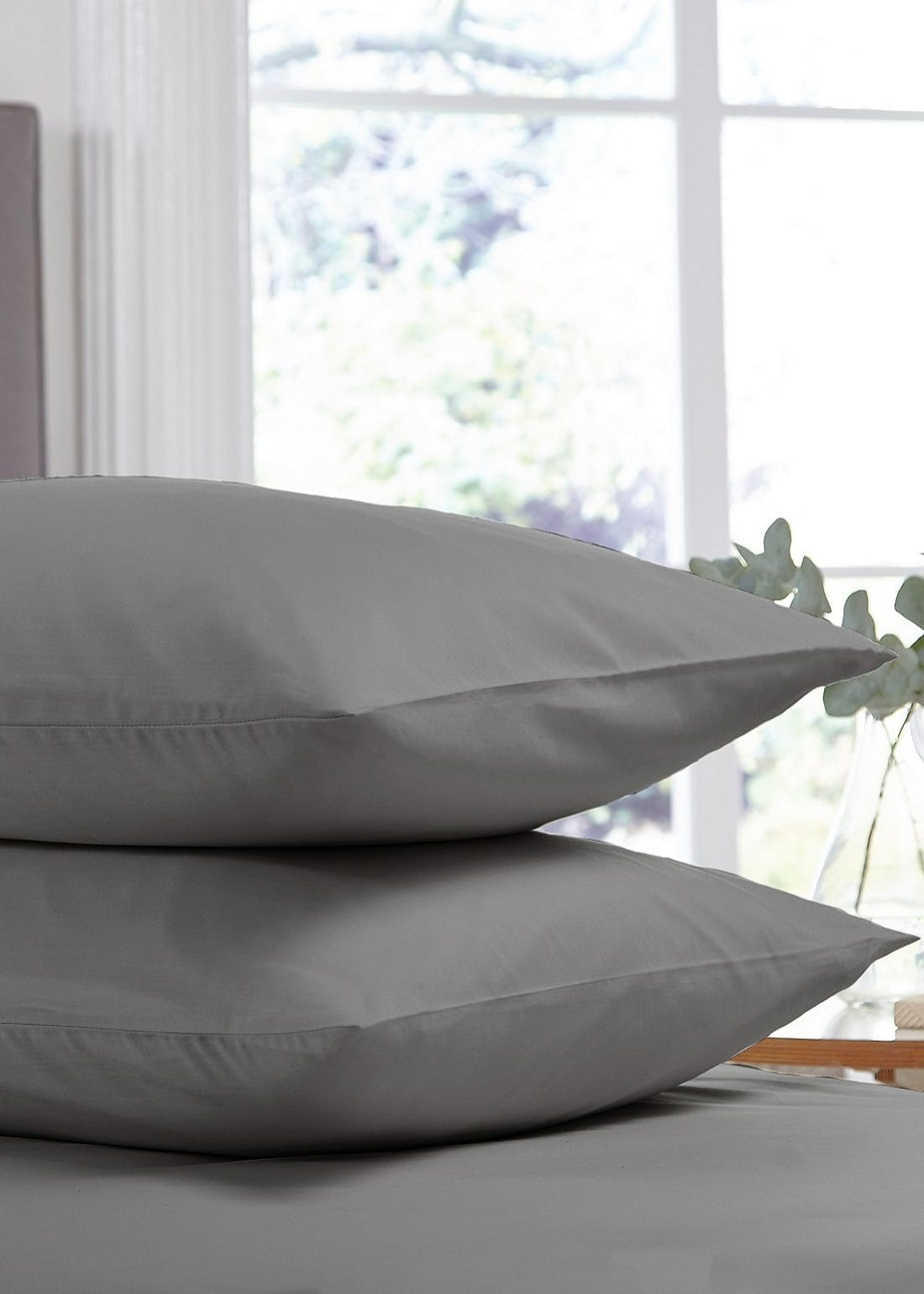 Silentnight Cotton Rich Fitted Pillowcase Pair