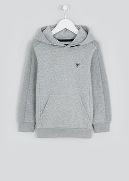 Boys Ribbed Panel Hoodie (4-16yrs)