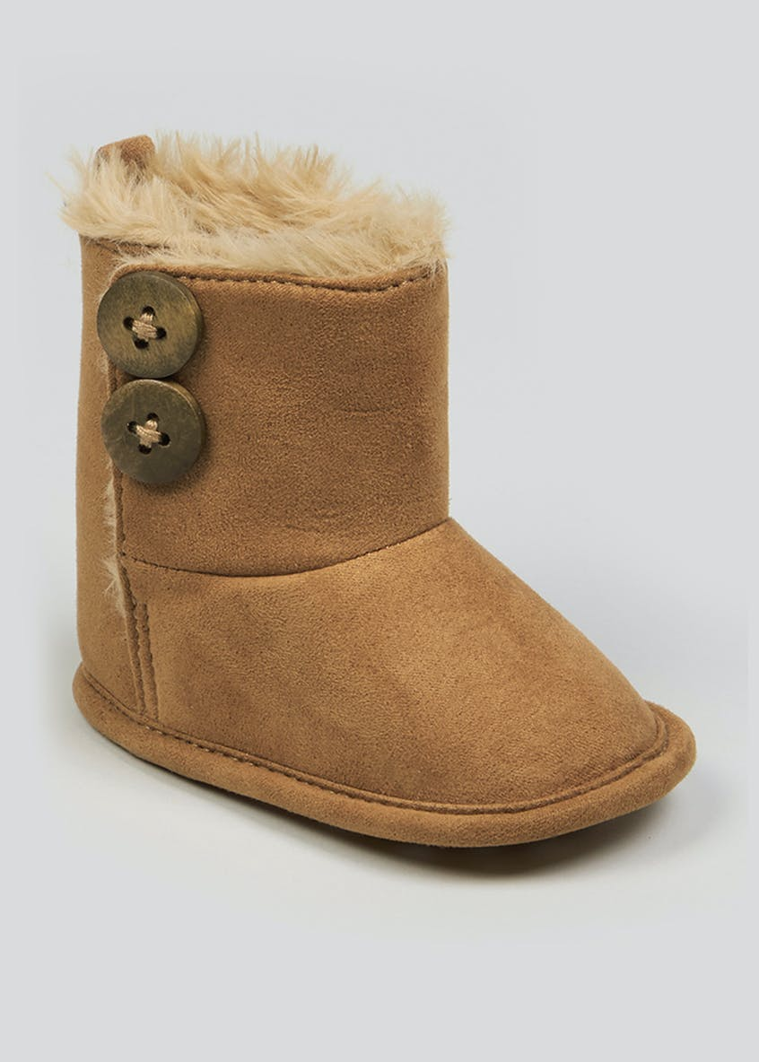 Unisex Soft Sole Snugg Boots (Newborn-18mths)
