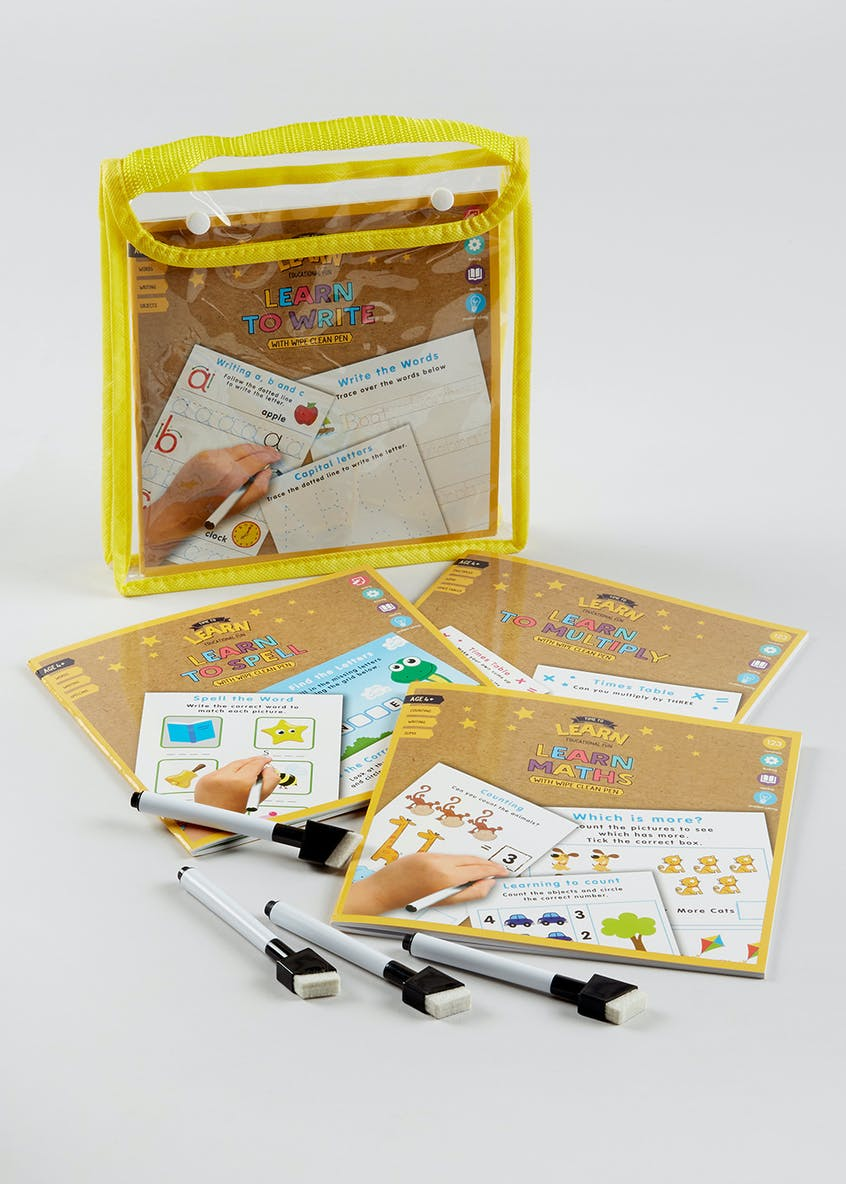 Kids Learning Skills Pack (23.5cm x 22.5cm x 2.5cm)