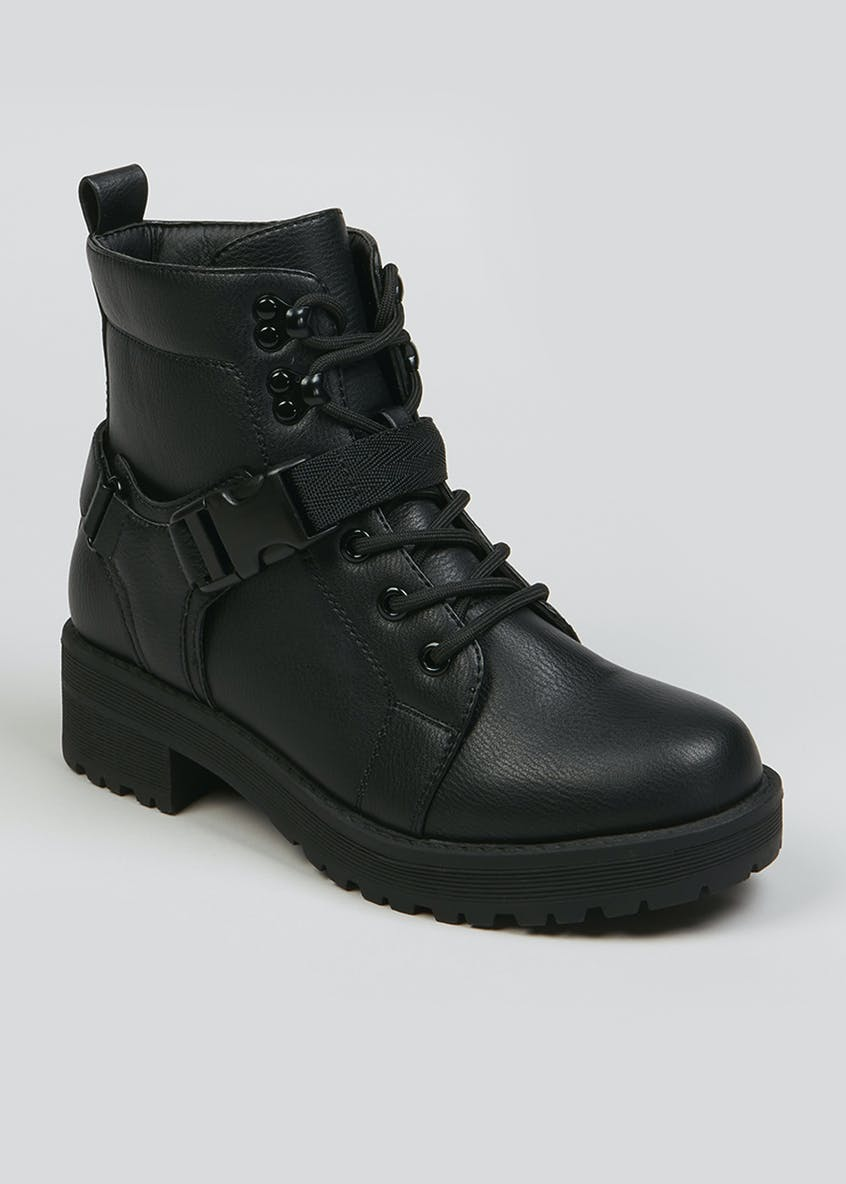 Delrin Clip Hiker Boots