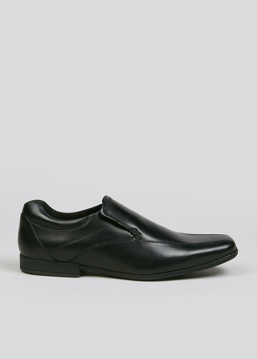 Taylor & Wright Real Leather Tramline Slip On Shoes