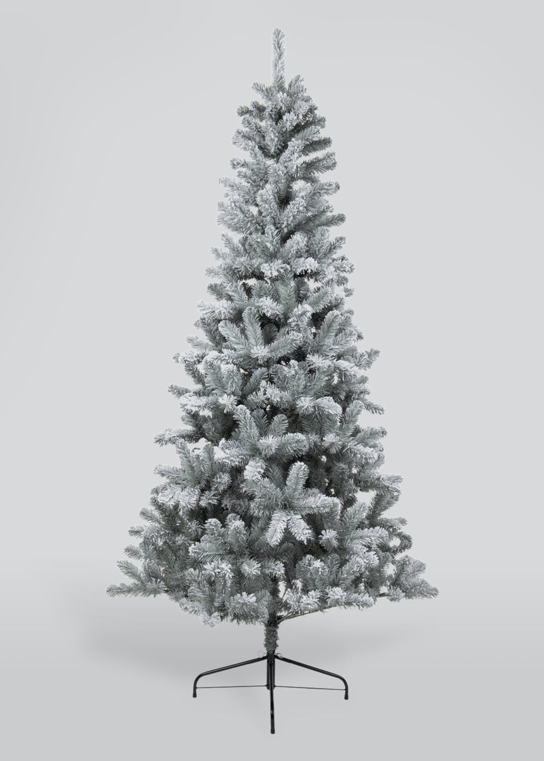 Frosted Glitter Christmas Tree (210cm)