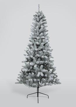 Frosted Glitter Christmas Tree (180cm)