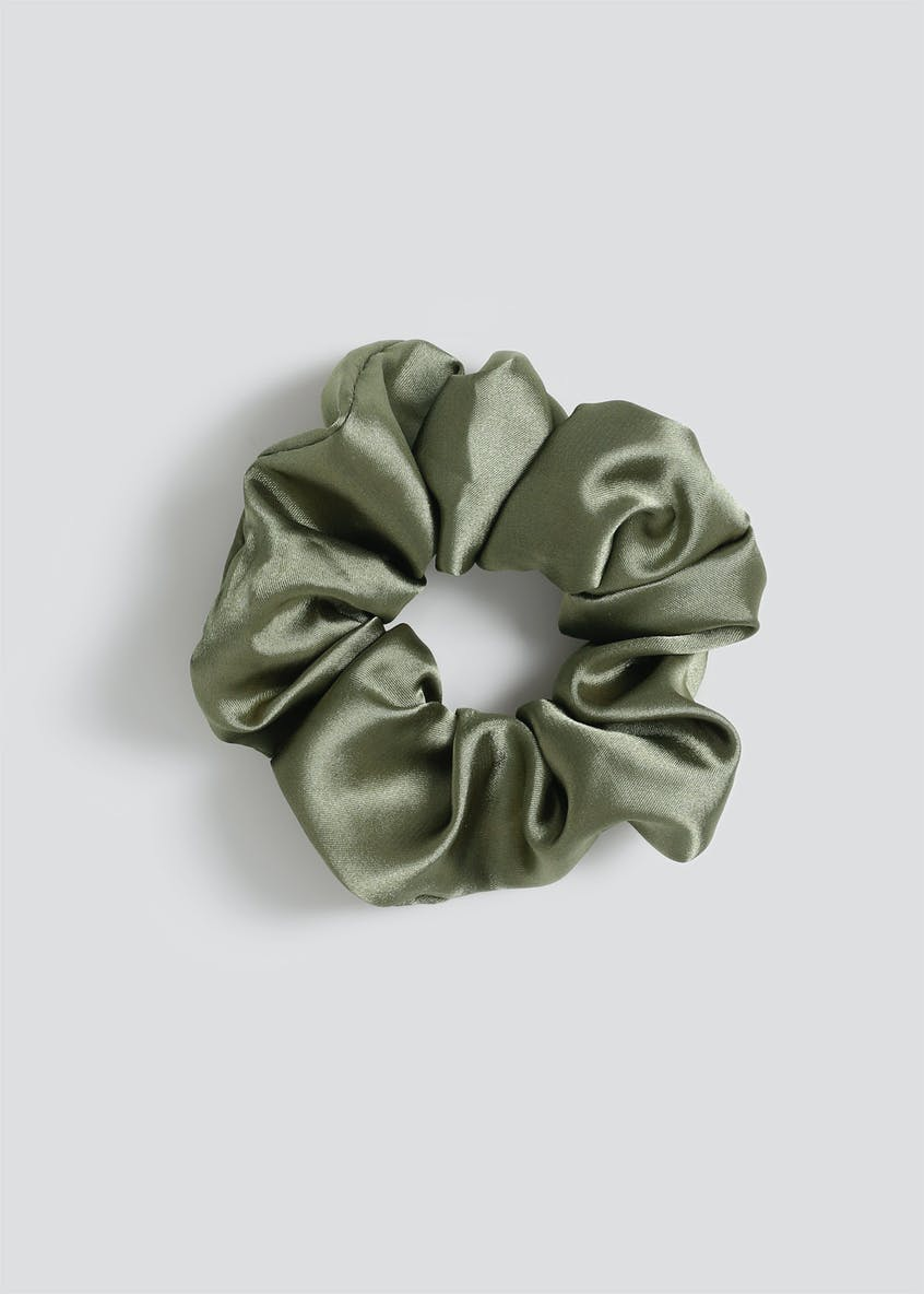 Satin Scrunchie.