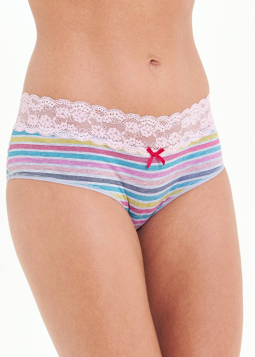 Stripe Rugby Short Knickers