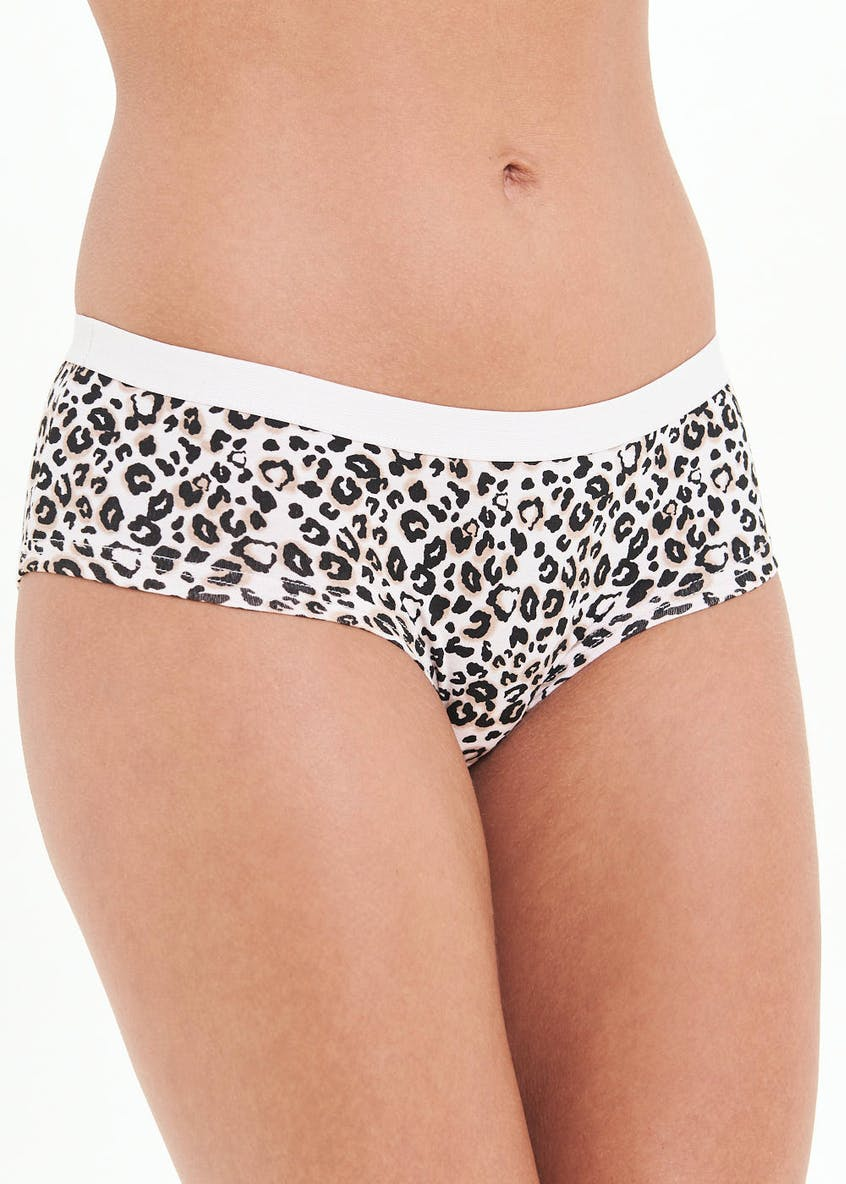 Animal Print Rugby Short Knickers
