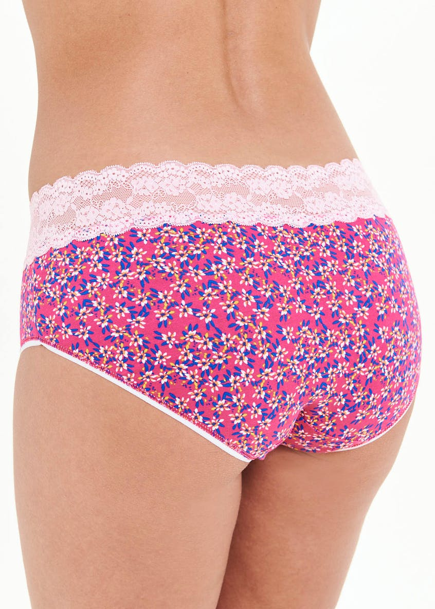 Floral Rugby Short Knickers