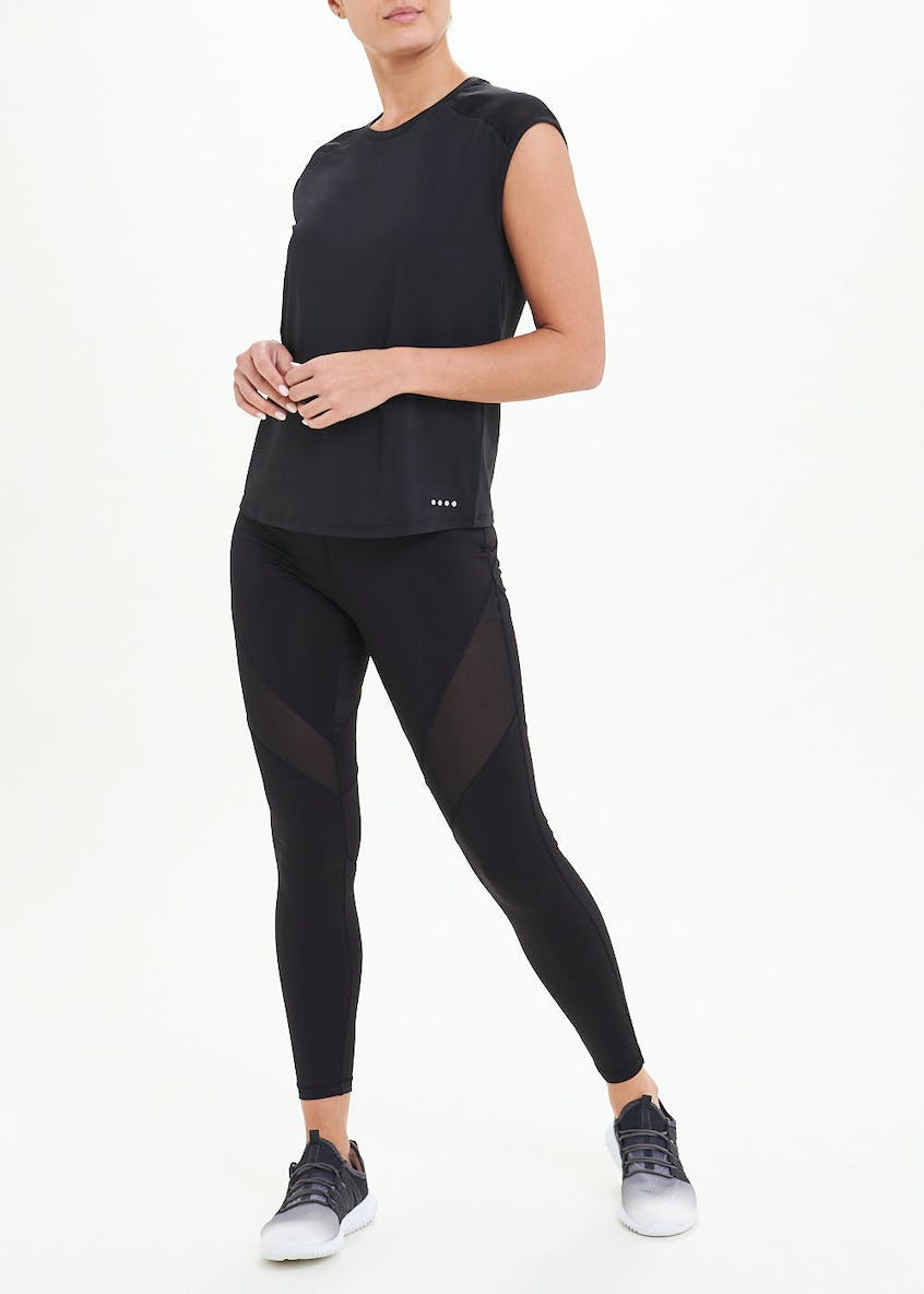 Souluxe Panel Gym T-Shirt
