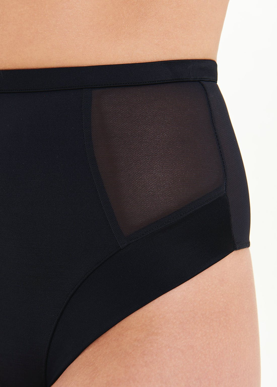 High Waisted Thong Control Knickers
