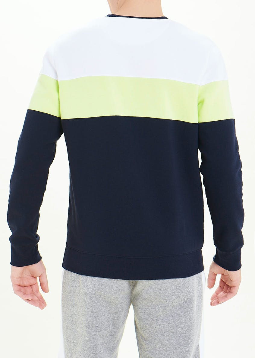 US Athletic Colour Block Sweatshirt