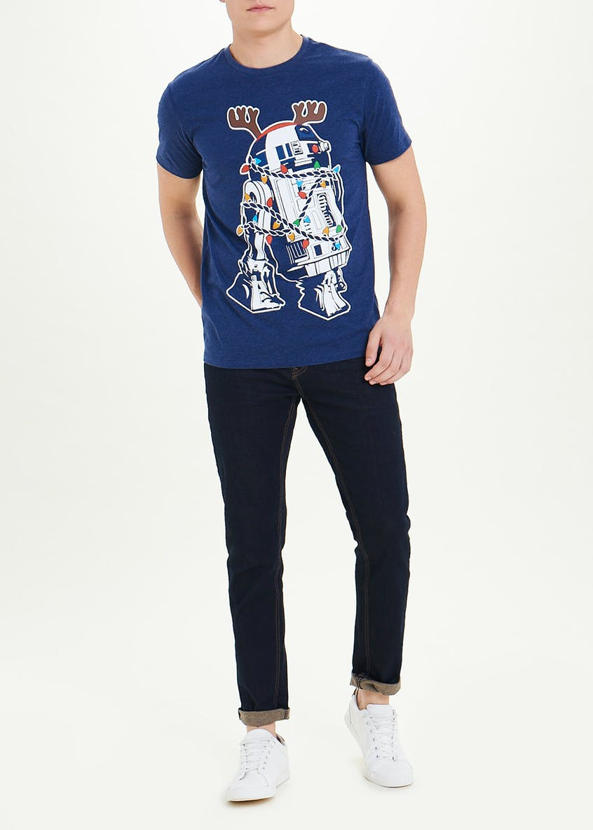 Star Wars R2D2 Christmas T-Shirt