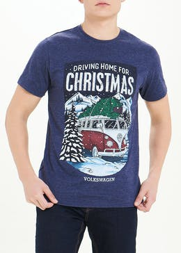 VW Driving Home For Christmas T-Shirt