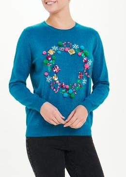 Christmas Wreath Jumper