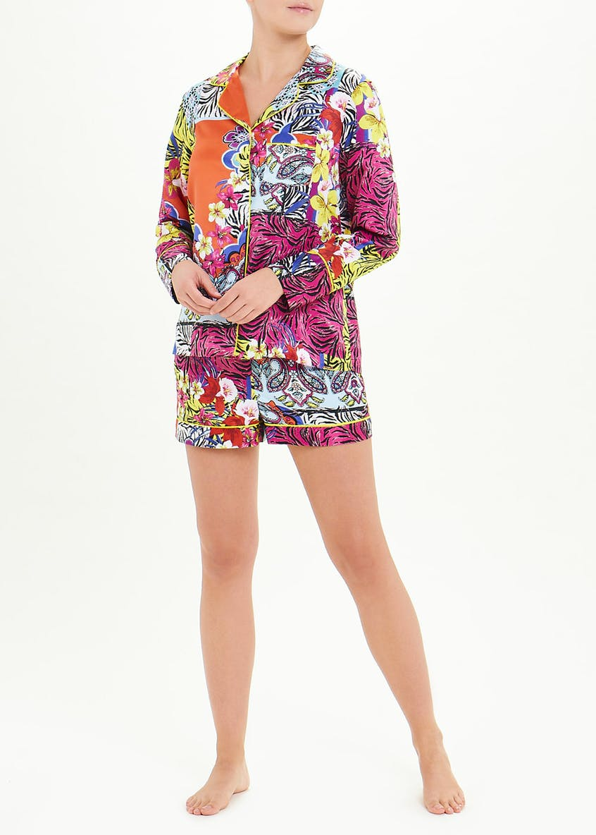 Julien Macdonald Printed Short Pyjama Set