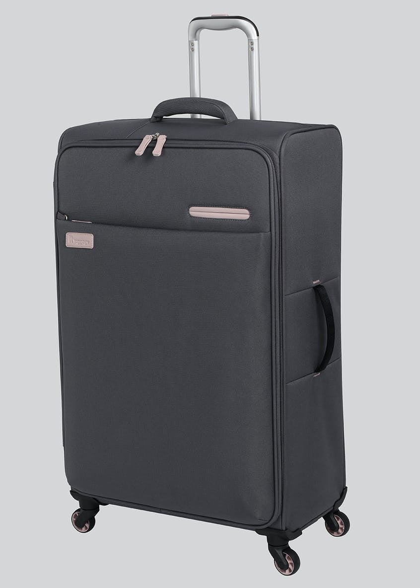 IT Luggage Lightweight Soft Shell Suitcase