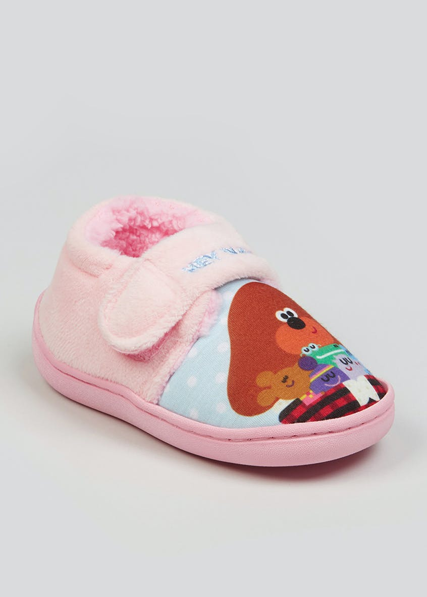 Kids Hey Duggee Co-Ord Slippers (Younger 4-12)