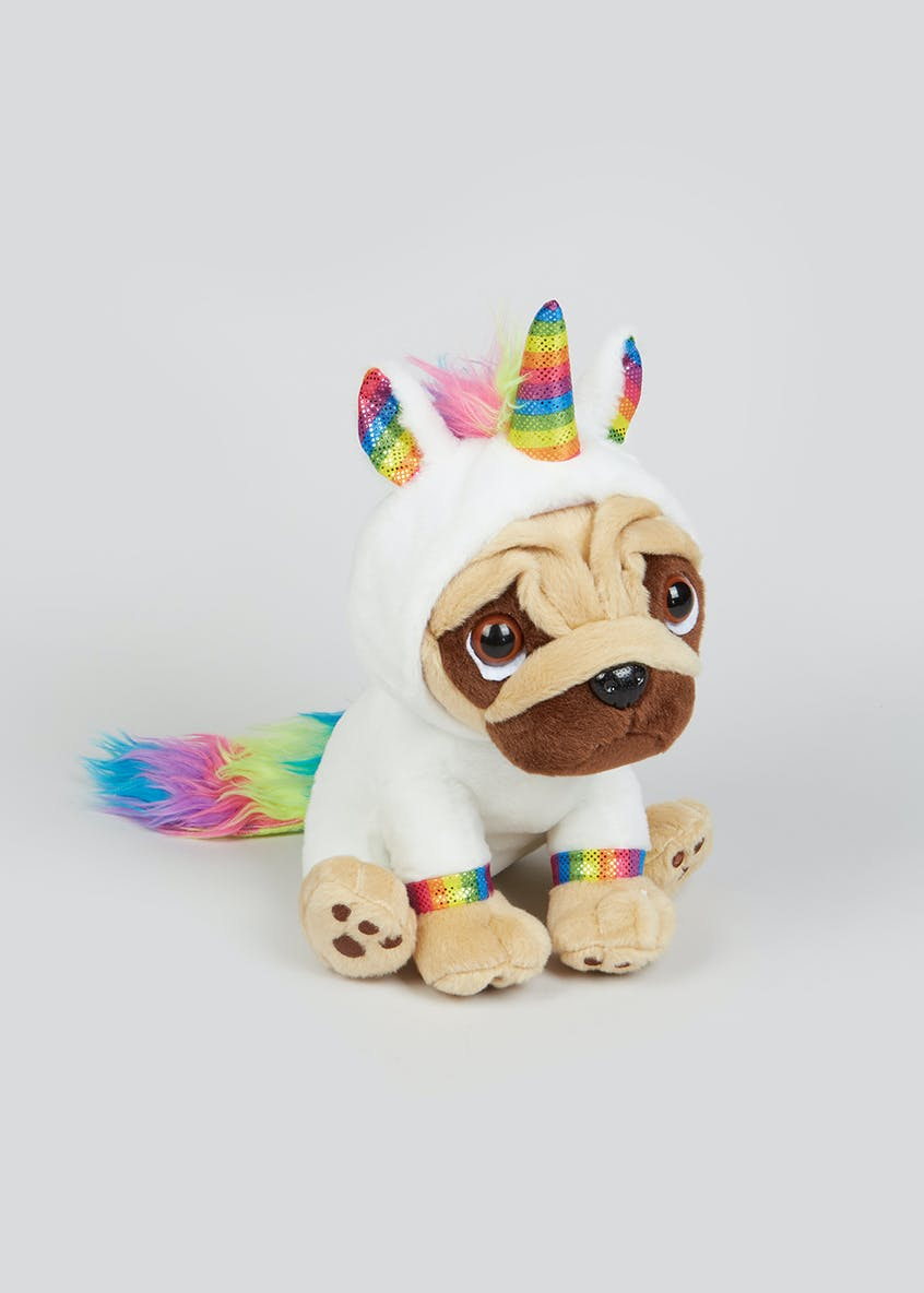 Rainbow Unicorn Pugsley Soft Toy (20cm)