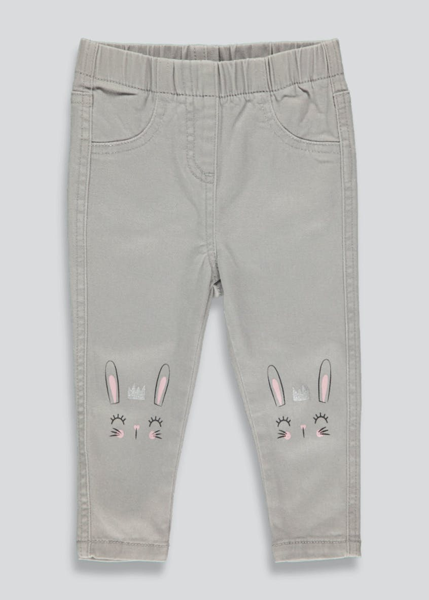Girls Bunny Jeggings (9mths-6yrs)