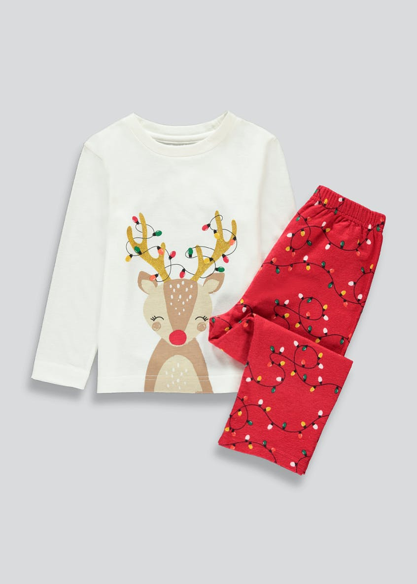 Kids Reindeer Pyjama Set (12mths-5yrs)