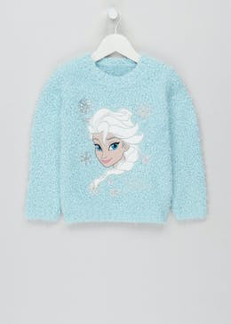Girls Disney Frozen Light Up Elsa Jumper (2-9yrs)