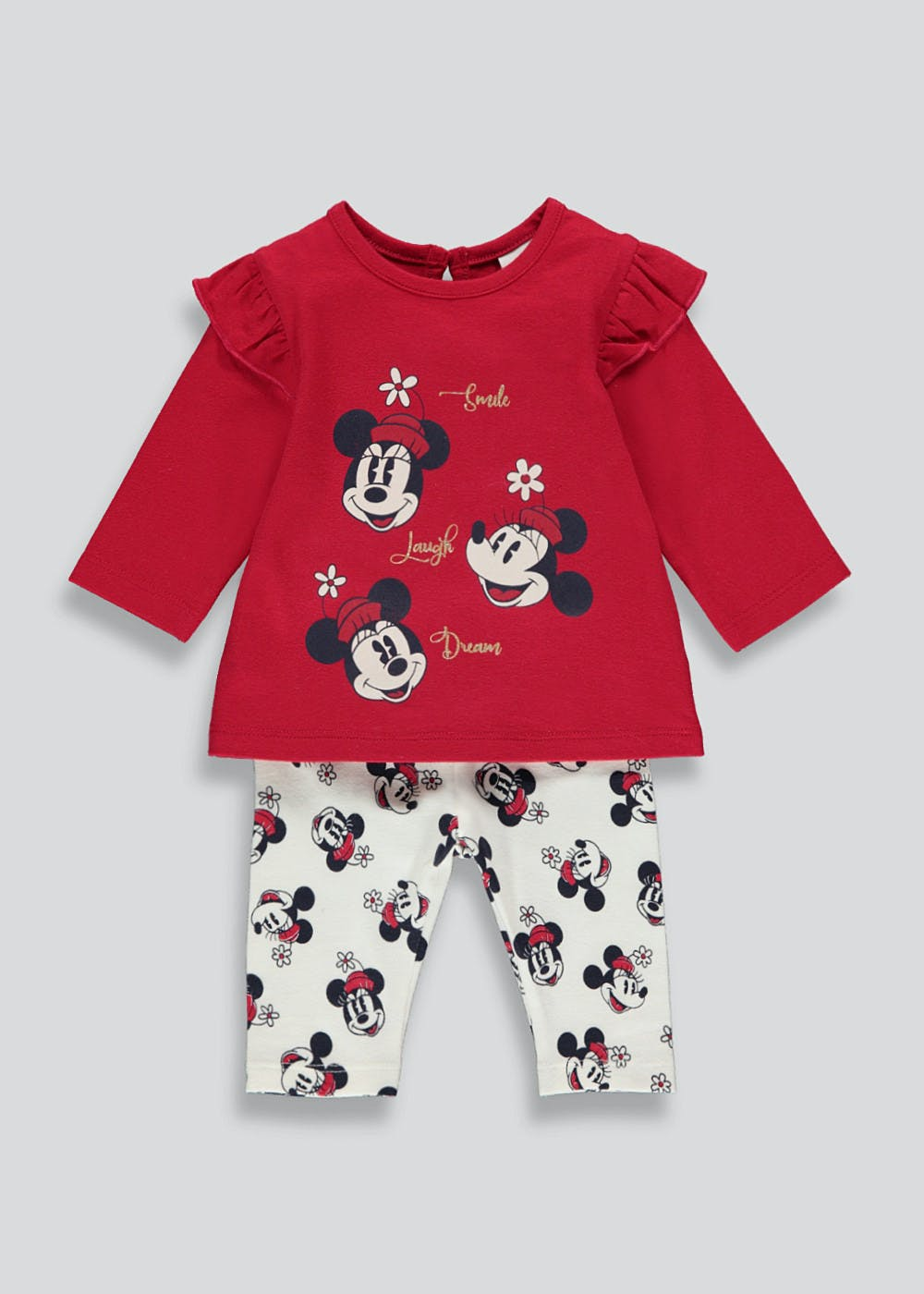 DISNEY Really Sweet Little MINNIE MOUSE 2 Piece Set  NWT