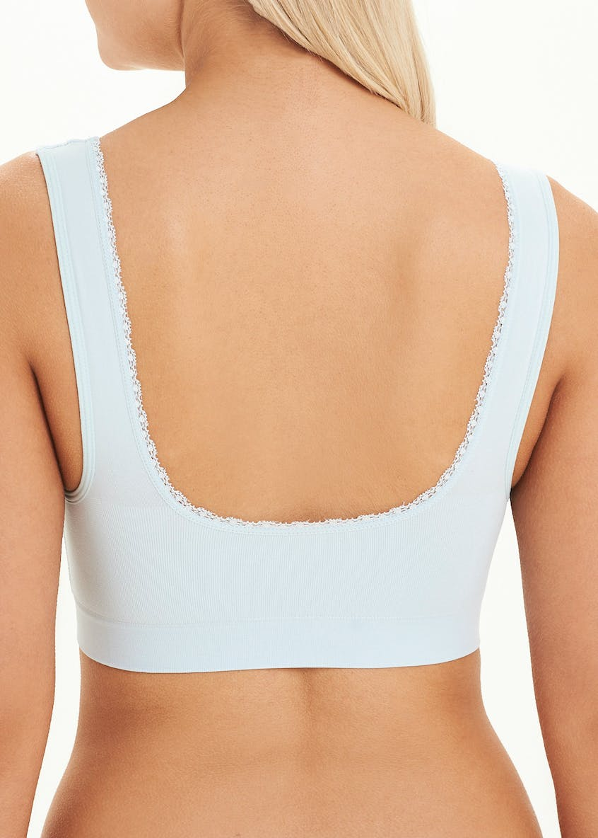 Padded Lace Crop Top