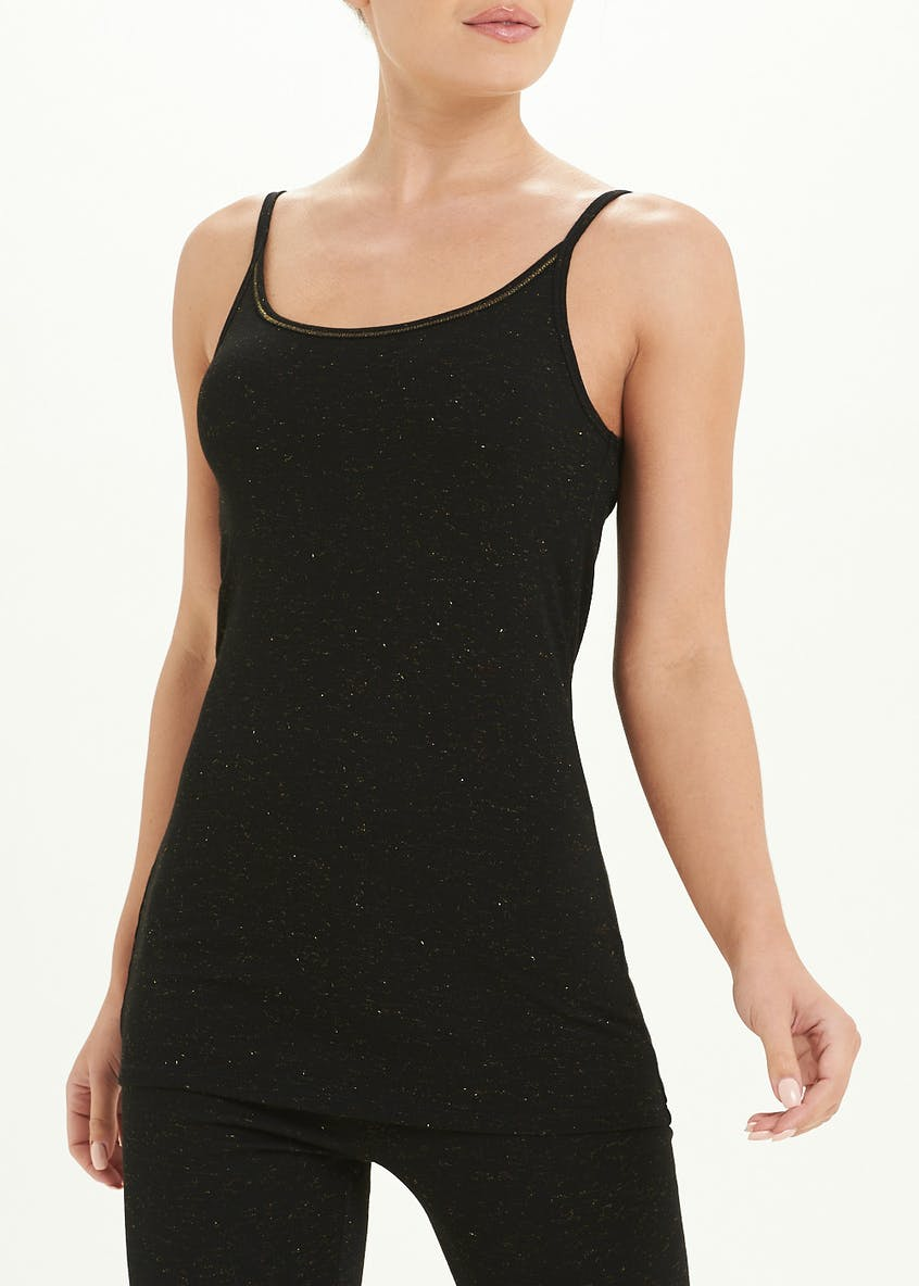 Sparkle Trim Thermal Vest