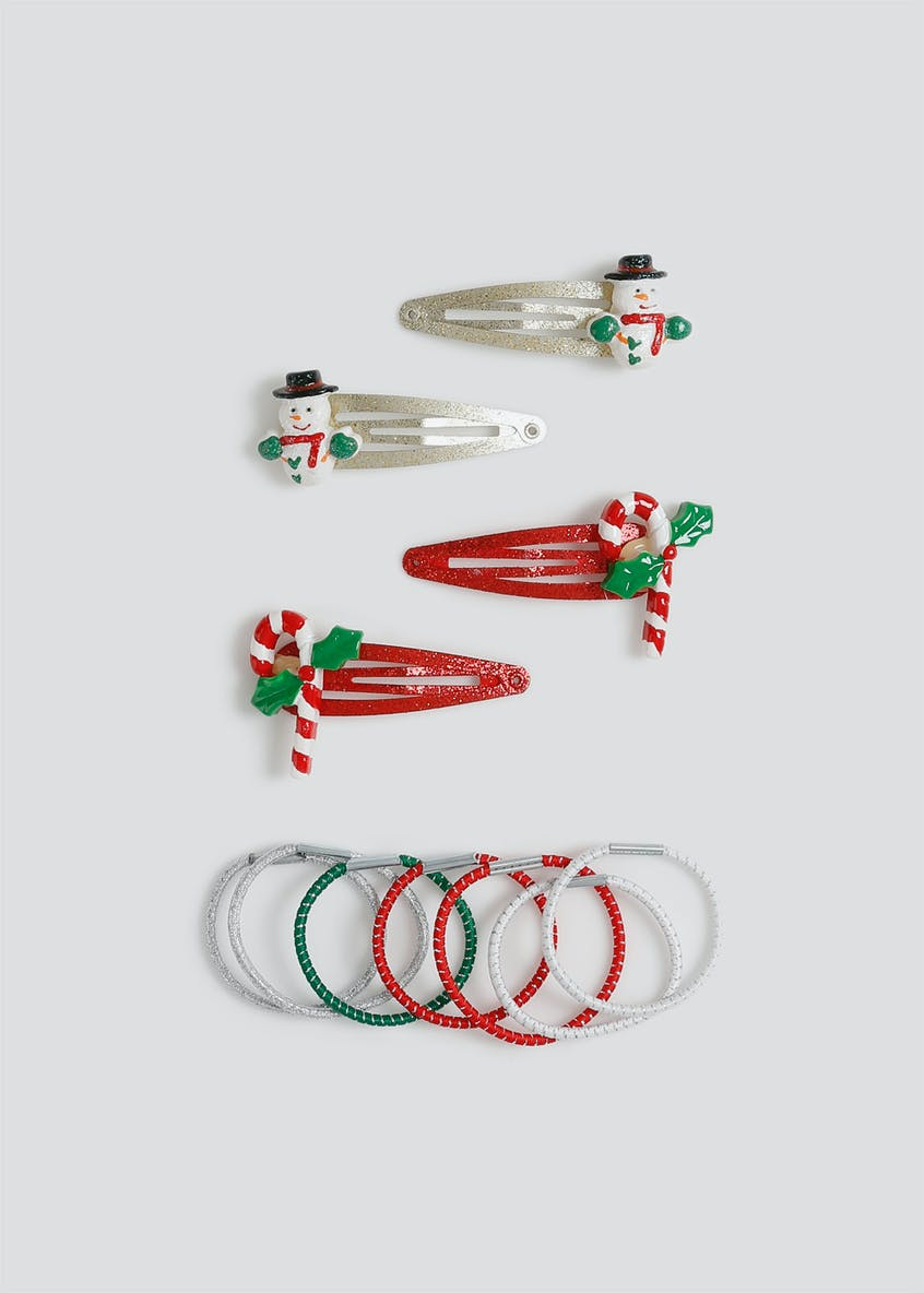 Girls Christmas Hair Accessory Pack