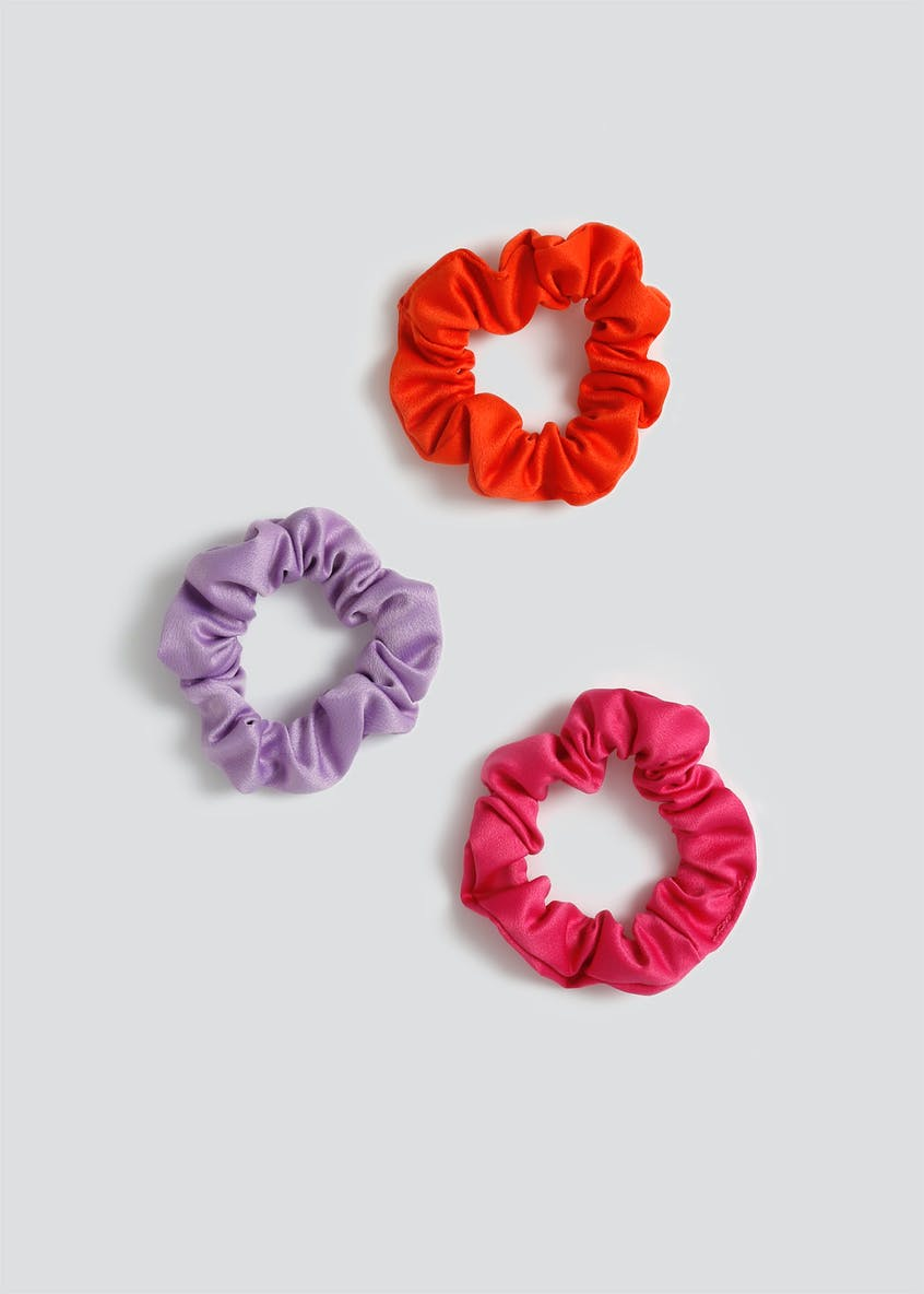 Girls 3 Pack Scrunchies