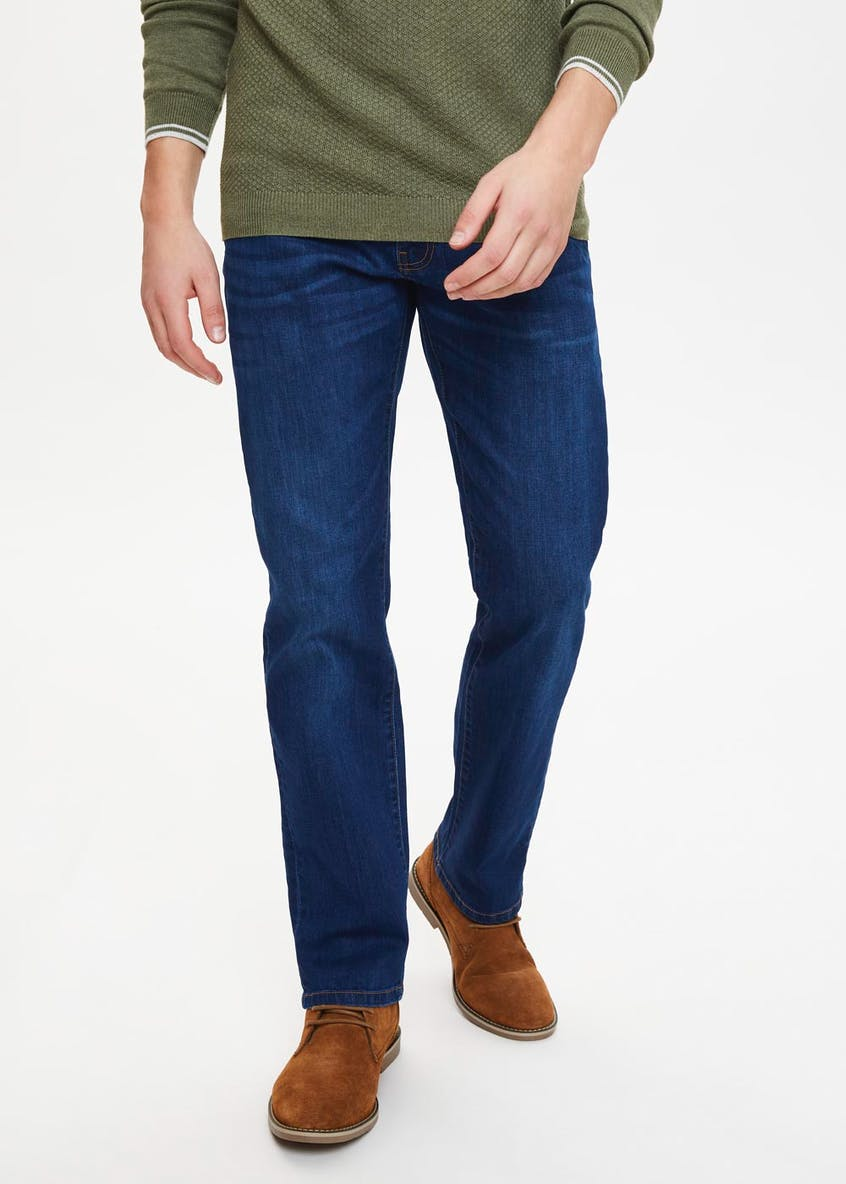 Big & Tall Stretch Straight Fit Jeans