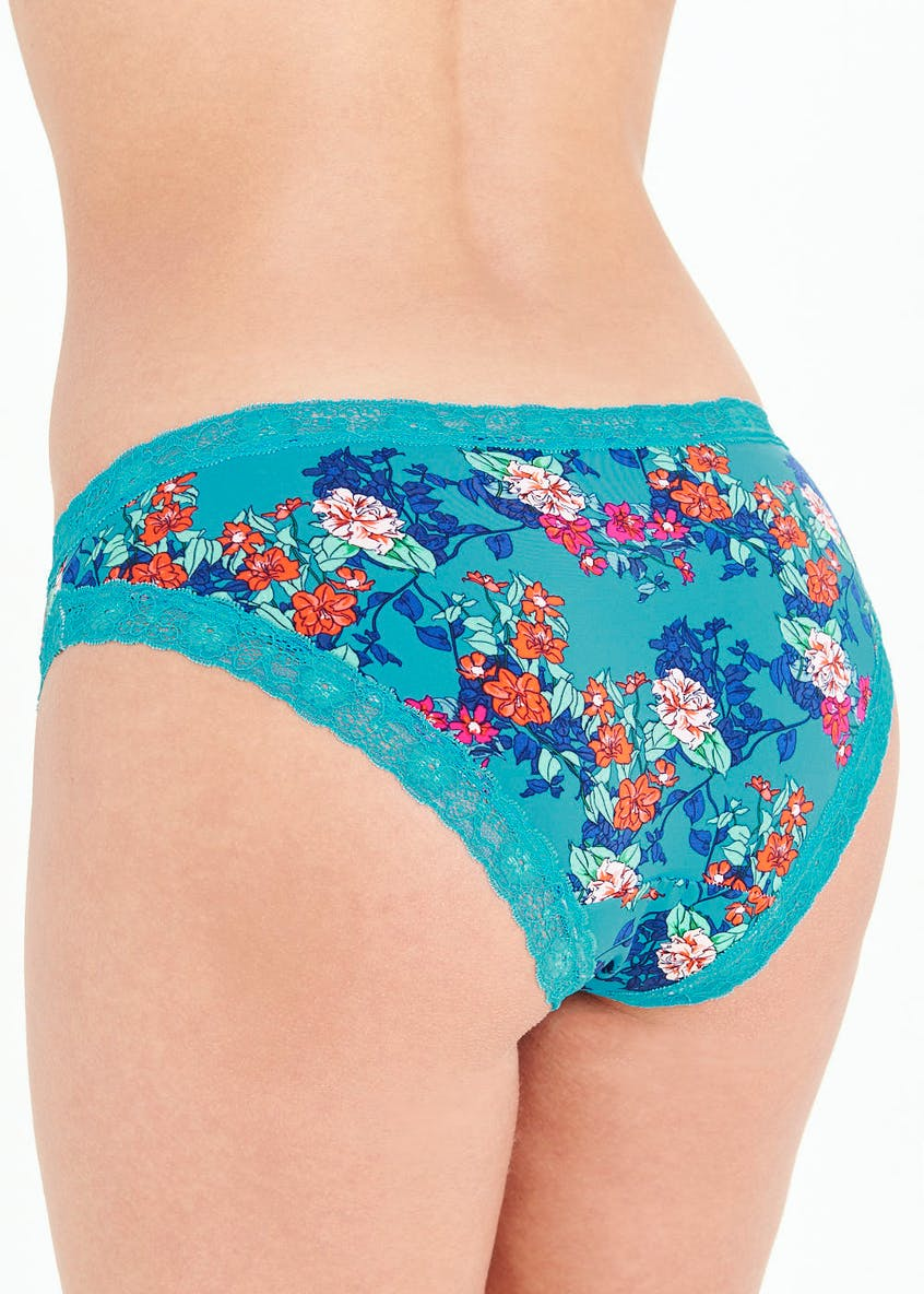 3 Pack Floral Mini Knickers