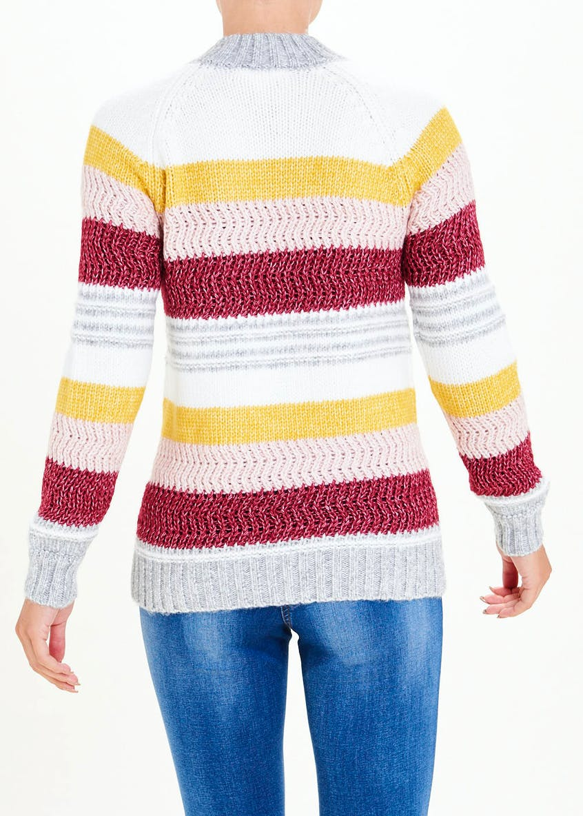 Falmer Stripe Stitch Jumper