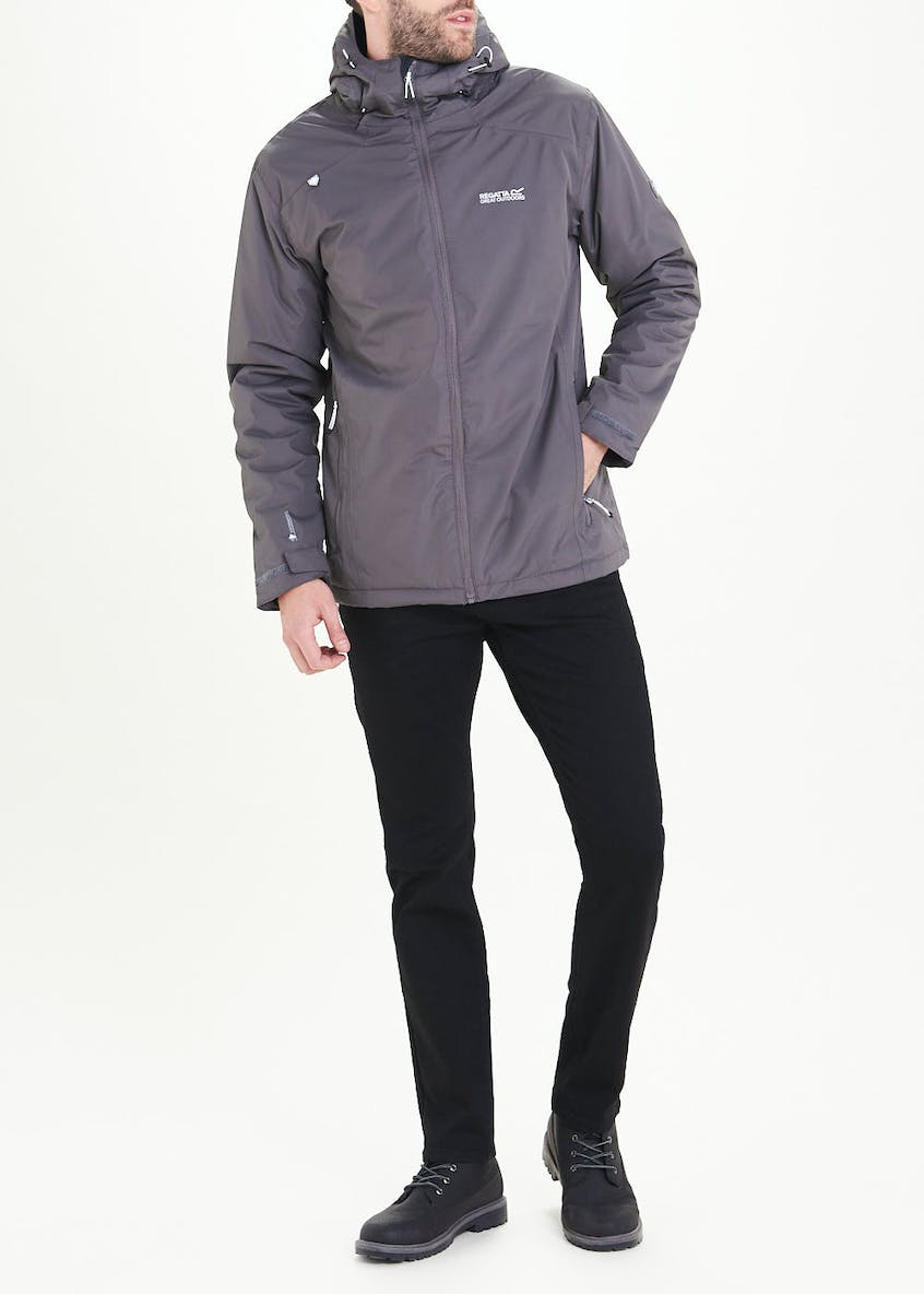 Regatta Grey Thornridge II Waterproof Hooded Jacket