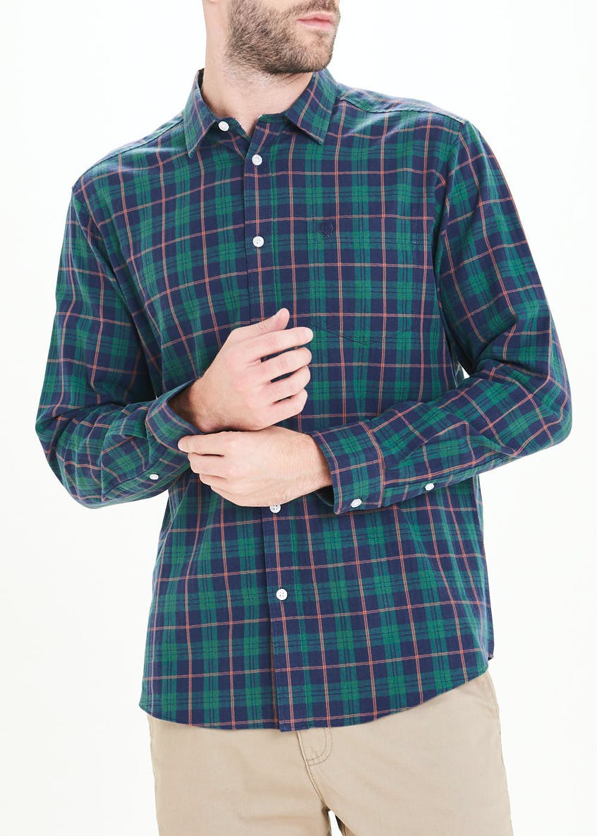 Lincoln Long Sleeve Highland Check Shirt