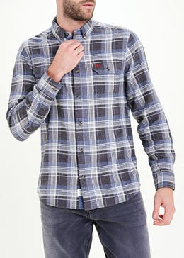 Morley Brushed Check Shirt