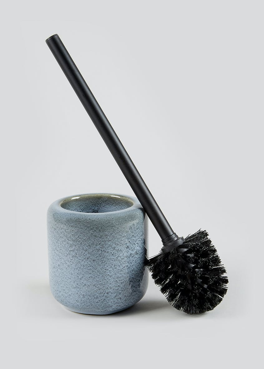 Ceramic Glaze Toilet Brush (38.5cm x 11.5cm)