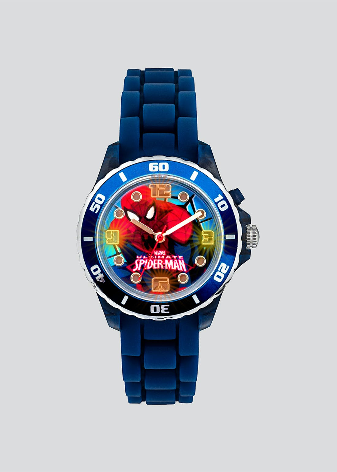 Kids Spiderman Light Up Watch