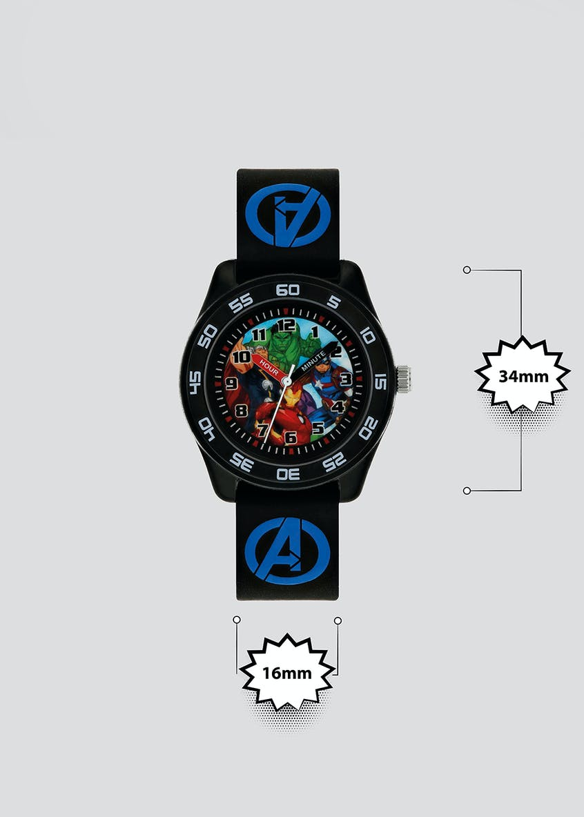 Kids Marvel Avengers Sports Watch